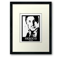 Skroob for President Framed Print