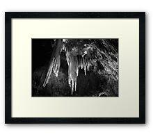 Stalactites, Marakoopa Cave 2 Framed Print