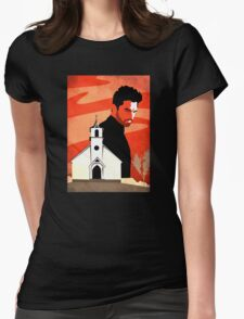 The Preacher Womens Fitted T-Shirt