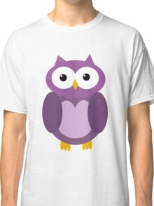 Transparent purple owl Classic T-Shirt