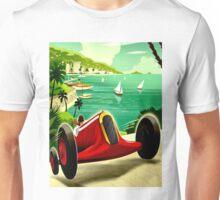 """MONACO GRAND PRIX"" Auto Racing Print Unisex T-Shirt"