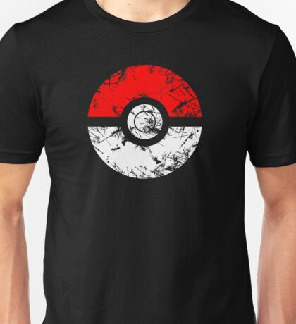Pokeball - Grunge Unisex T-Shirt