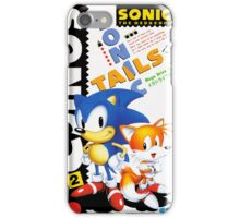 Blue Hedgehog 2 iPhone Case/Skin