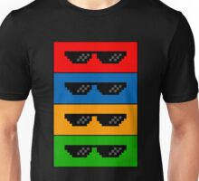 GlASSES! (MLG, THUG LIFE, NO SCOPE, DEAL WITH IT) Unisex T-Shirt