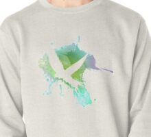 Watercolor swallow Pullover