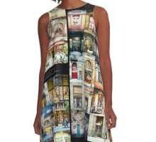 Colors of Barcelona A-Line Dress