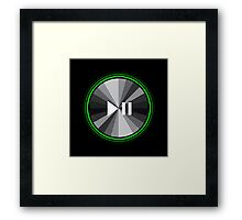DJ Playpause Framed Print