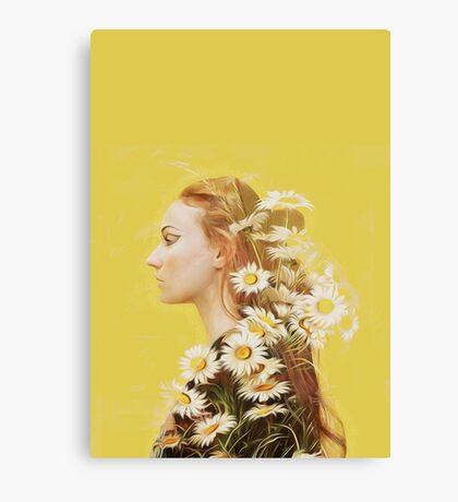 Sophie Turner Graphic Canvas Print