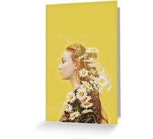 Sophie Turner Graphic Greeting Card