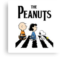 The Peanuts Canvas Print