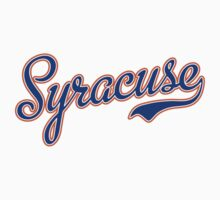 Syracuse Script Blue  Kids Clothes