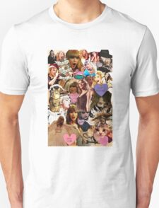 cat collage taylor swift Unisex T-Shirt