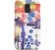 Reef, original abstract ink painting Samsung Galaxy Case/Skin