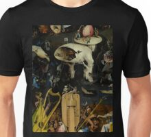 The Garden of Earthly Delights by Hieronymus Bosch Unisex T-Shirt