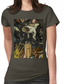 The Garden of Earthly Delights by Hieronymus Bosch Womens Fitted T-Shirt