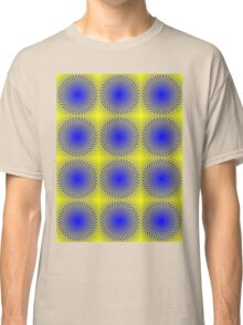 """""""WHIMSICAL 3D ABSTRACT"""" Fun Psychedelic Print Classic T-Shirt"""