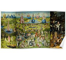 The Garden of Earthly Delights by Hieronymus Bosch Poster