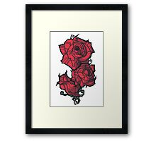 The Rose. Framed Print