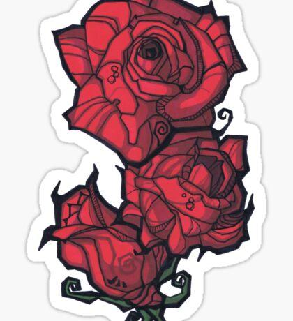 The Rose. Sticker