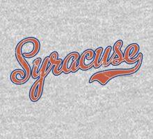 Syracuse Script Orange VINTAGE by Carolina Swagger