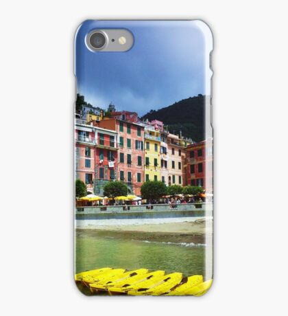 Colorful Vernazza iPhone Case/Skin