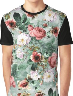Rpe Seamless Floral Pattern I Graphic T-Shirt