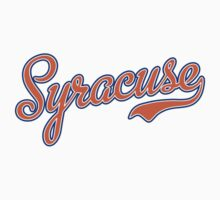 Syracuse Script Orange  Kids Clothes