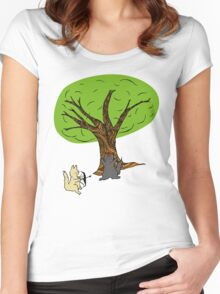William Tell - colourised version Women's Fitted Scoop T-Shirt