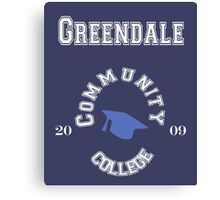 Commuinity- Greendale College Canvas Print