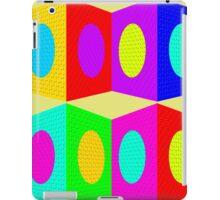 """PSYCHEDELIC BLOCKS"" 3D Whimsical Print iPad Case/Skin"