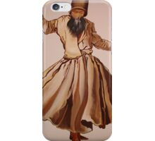 The Remembrance of Allah - A Sufi Whirling Dervish iPhone Case/Skin