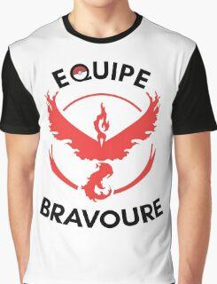Pokémon GO - Equipe Bravoure Graphic T-Shirt