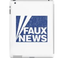 Faux News iPad Case/Skin