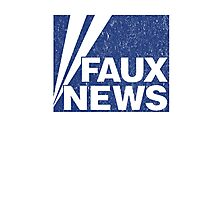 Faux News Photographic Print
