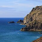 Cornwall North Coast Chapel Porth by Brian Roscorla