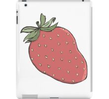Stylish Strawberry iPad Case/Skin