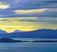 Panorama from Skye by Stephen Frost