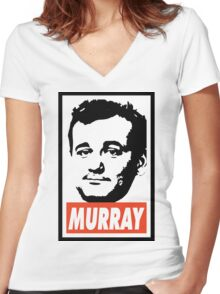 Bill Murray Women's Fitted V-Neck T-Shirt