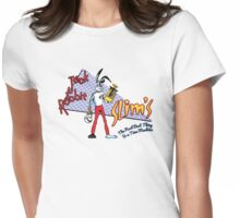 Jack Rabbit Slim's - Original Logo Womens Fitted T-Shirt
