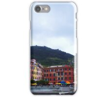 Colorful harbor of Vernazza iPhone Case/Skin