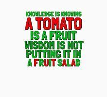 Food Humor Funny Tomato Cute Random Quote Unisex T-Shirt