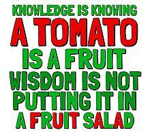Food Humor Funny Tomato Cute Random Quote Photographic Print