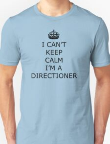 Keep Calm I'm A Directioner One Direction Unisex T-Shirt
