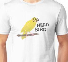 Nerd Bird Canary Unisex T-Shirt