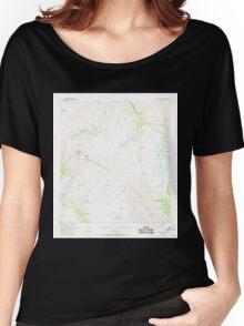USGS TOPO Map Alaska AK Mount Hayes A-4 357630 1949 63360 Women's Relaxed Fit T-Shirt