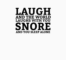 Laugh Snore Funny Oldboy Pun Random Humor Cool Unisex T-Shirt
