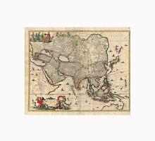 Vintage Map of Asia (1689) Unisex T-Shirt