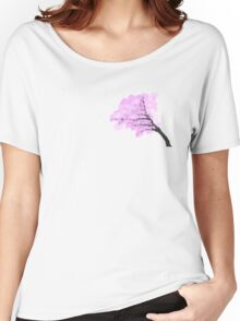 Cherry Blossom Tree Women's Relaxed Fit T-Shirt