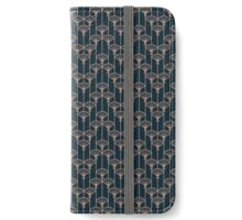 Art deco pattern iPhone Wallet/Case/Skin