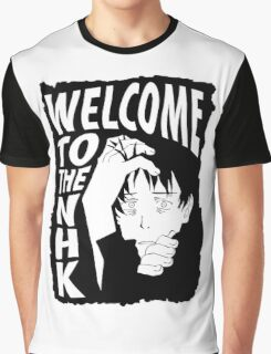 Welcome to the NHK Graphic T-Shirt